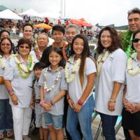 HHSAA K. Mark Takai Swimming and Diving State Championships Dedication (2/10/201