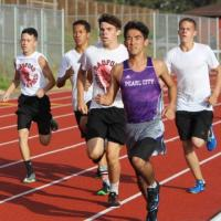OIA Track & Field Qualifying Meet #3 held at Pearl City High School (4/1/2017)