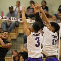 Mililani sweeps Pearl City 2-0, stays unbeaten at 8-0 (4/4/2017)