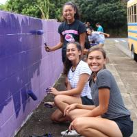 ECOS, PCHS partner to beautify Ho'okiekie Street in Pearl City (4/25/2017)