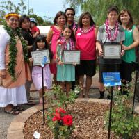 Students recognized at UGC Heroes' & Peace Awards Ceremony in Pearl City (4/12/2