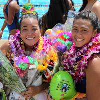 Lady Chargers send off seniors in style with 8-6 win over Leilehua (4/5/2014)