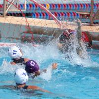 Kaiser overpowers Pearl City 15-3 in OIA Girls Varsity Water Polo (4/12/2014)