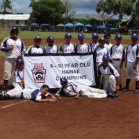 Photo of Pearl City Hawaii State Little League 9-10 Champions 6/26/10
