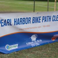 Pearl Harbor Bike Path Cleanup - Blaisdell Park  4/17/10