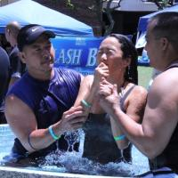 Grace Bible Church Pearlside &quot;Splash Bash&quot; Water Baptism at LCC in Pearl City (9