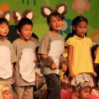 "Momilani Elementary School first graders perform ""Character Matters"" on 2/17/11"