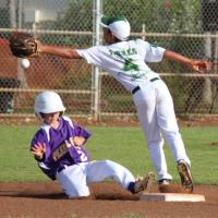 Pearl City slides into championship game with 7-5 win over MKH (6/22/11)