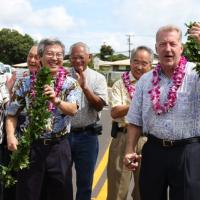Mayor Carlisle gives residents the green light with Kaakepa Street dedication (6