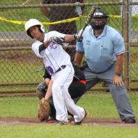 Pearl City eliminates Ewa Beach 9-2 in Little League District 7 Majors Champions
