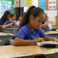 Palisades Elementary receives free dictionaries from Rotary Club of Pearlridge