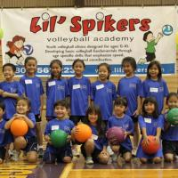 Lil' Spikers Volleyball Academy  5-7 year olds at Pearl City High School (7/10/1