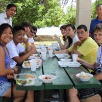 Mana Loa-Nimitz Lions sponsor International Youth Camp luncheon (7/13/11)