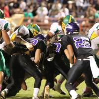 Pearl City Chargers finish a perfect 8-0 with 29-27 victory over Kaimuki (10/15/