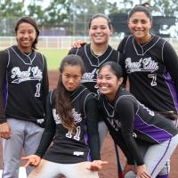 Aloha to five very special Lady Chargers!