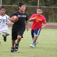 PCHS Chargers Annual Youth Football Clinic at Pearl City High School  (7/30/11)