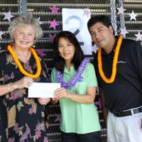 Pearl City Elementary School receives $1000 Pearl City Shopping Center donation
