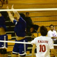 Kalani Sweeps Pearl City 25-15, 26-24, 25-22 in OIA Red Volleyball Championship