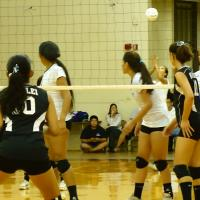 Pearl City loses to Kapolei @ home in OIA Red West Division Girls VB 22-25, 25-1