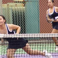 Pearl City vs. Waialua in OIA Varsity Tennis  3/17/10