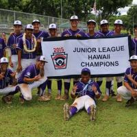 Pearl City Little League Juniors Crowned 2015 Hawaii State Champions (7/21/2015)