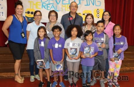 Pearlridge Rotarians kick off 2018 Dictionary 5000 Project (9/12/2018)