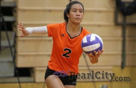 Campbell sweeps Pearl City 3-0 in OIA West Girls Volleyball (9.4.19)
