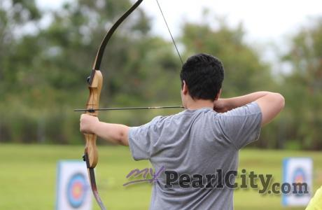 Archery Champion Blaise Barry wins 2018 City Wide Archery Tournament (4/14/2018)