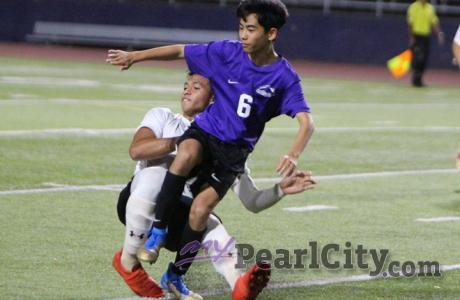 Chargers open OIA DI Boys Soccer Championship Tournament with 1-0 win over Kahuk