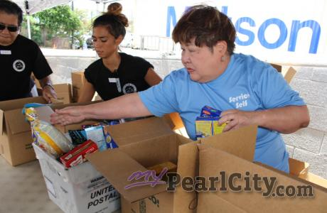25th Annual National Letter Carrier Food Drive in Pearl City (5/13/2017)