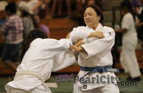 Pearl City High School Chargers Judo at Aiea High School (3/31/2012)