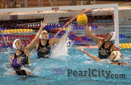 Mililani takes out Pearl City 14-4 in OIA Girls Varsity Water Polo (4/11/2012)