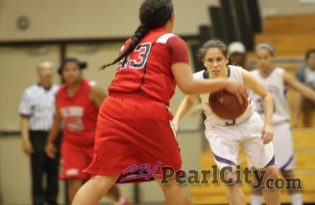 Kahuku squeaks by Pearl City 42-41 in quarterfinals of state girls basketball to