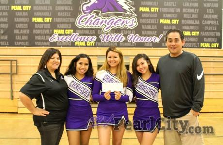PCHS Athletics receive $800.00 Pearl City Shopping Center check donation | Pictu