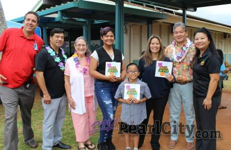tuck on Aloha honored at Kanoelani Elementary School