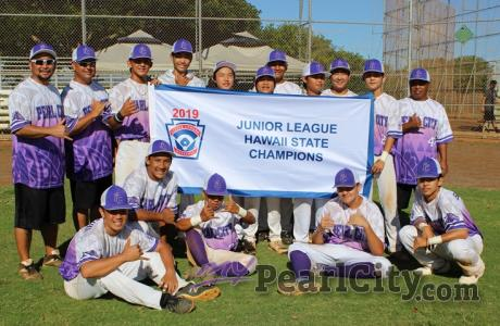 Pearl City wins 2019 Junior League Hawaii State Baseball Championship
