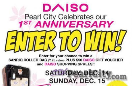PEARL CITY DAISO STORE TO CELEBRATE 1ST ANNIVERSARY THIS WEEKEND!
