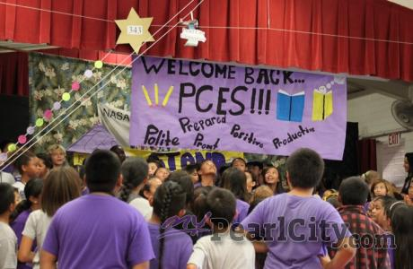 "Pearl City Elementary School students ""Welcomed Back"" with ""Top Rank"" surprise!"