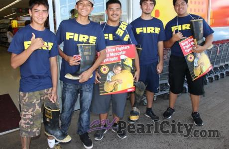 "Pearl City Shopping Center hosts MDA ""FILL THE BOOT"" Fundraiser"