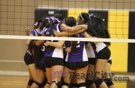 Pearl City trips up Mililani 2-1 in OIA Red West Girls Volleyball