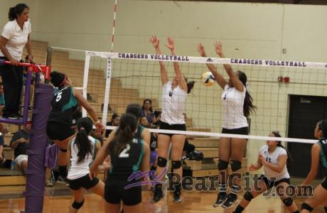 Kapolei sweeps Pearl City 25-18, 25-17
