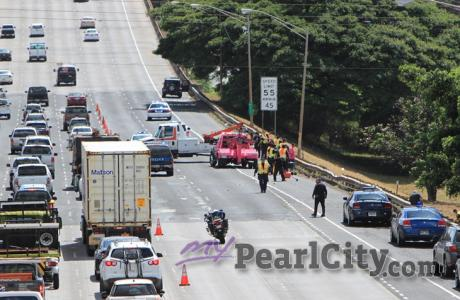 Prayers for Wednesday morning's H1 accident victim