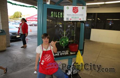 Support Salvation Army's Red Kettle Campaign at the Pearl City Shopping Center