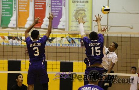 OIA West Varsity Boys Volleyball: Mililani over Pearl City 25-13, 25-27, 15-10