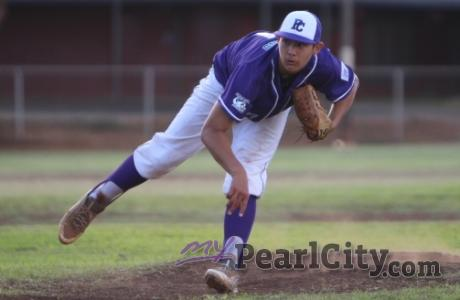 Halemanu pitches Pearl City to 9-0 shut-out over MKH