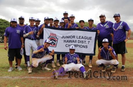 Pearl City wins D7 Junior Little League Championship!