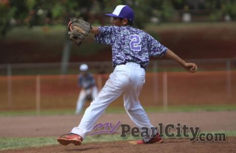 Six-run, seventh inning rally lifts Pearl City over Waialua 8-5