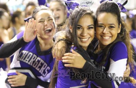 2015 Pearl City Chargers OIA Competitive Cheerleading Schedule