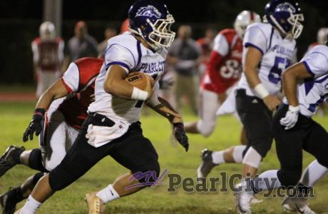 Pearl City loses battle with Kalani 22-8 in OIA D2 varsity football