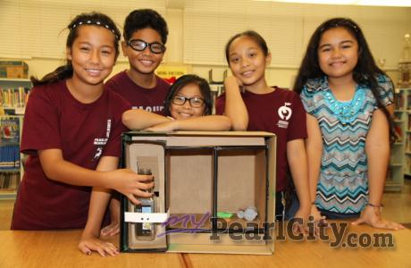 "PEACHES students prepare for FIRST Lego League ""Trash Trek"" State Championship T"